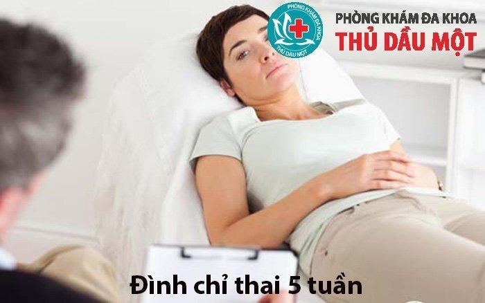 Đình chỉ thai 5 tuần