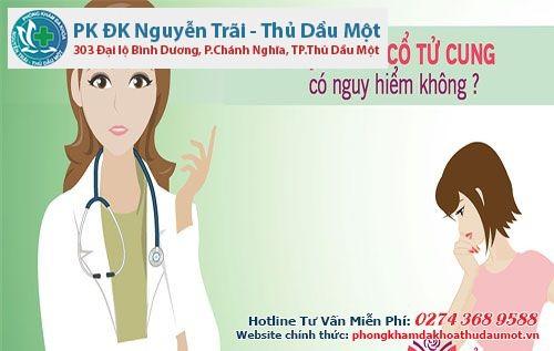 Bệnh viêm lộ tuyến cổ tử cung không gây nguy hiểm nếu được điều trị kịp thời