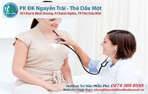 Hình ảnh khám bệnh viêm âm đạo tại Thủ Dầu Một