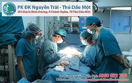 Đa khoa Nguyễn Trãi - Thủ Dầu Một – Địa chỉ cắt bao quy đầu ở Tân Uyên Bình Dương UY TÍN