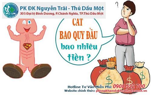 Giá tiền cắt bao quy đầu ở bệnh viện Đa khoa Nguyễn Trãi - Thủ Dầu Một Bình Dương