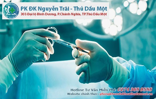 Điều trị viêm bao quy đầu bằng phương pháp thủ thuật
