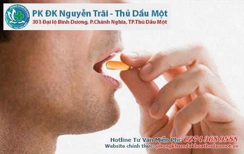 Điều trị viêm bao quy đầu bằng thuốc