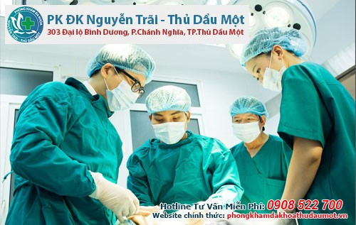 Đa khoa Nguyễn Trãi - Thủ Dầu là nơi thực hiện cắt bao quy đầu cho nam giới