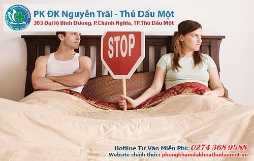 Trong quá trình điều trị bệnh lậu cần tránh quan hệ tình dục