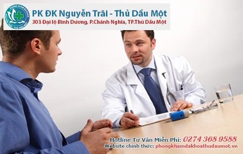 Điều trị bệnh lậu mãn tính tại Đa khoa Nguyễn Trãi - Thủ Dầu 1