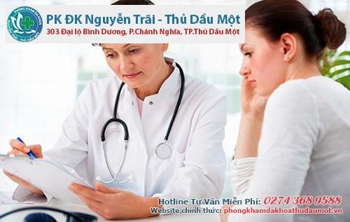 Nên đến gặp bác sĩ ngay nếu phát hiện ra các dấu hiệu của bệnh mụn rộp sinh dục