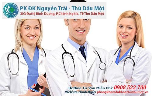 Ở Bình DƯơng có phòng khám Đa khoa Nguyễn Trãi - Thủ Dầu Một khám dương vật được nam giới tin tưởng