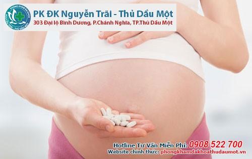 Thuốc phụ khoa dường như không gây ảnh hưởng cho thai nhi
