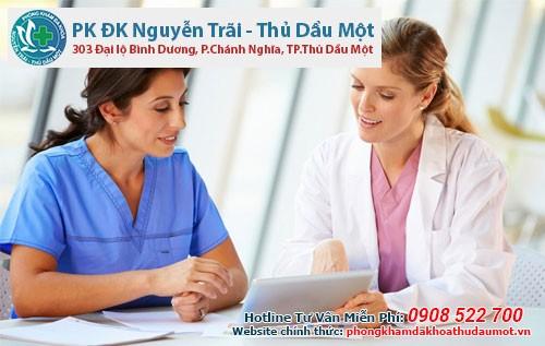Chữa bệnh tại Phòng Khám Đa khoa Nguyễn Trãi - Thủ Dầu Một - chua benh phu khoa binh duong