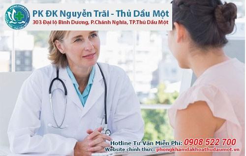 Phòng khám bệnh phụ khoa Dĩ An– Bến Cát – Thuận An- Bình Dương uy tín