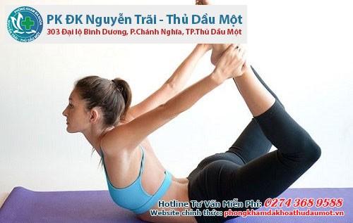 Tập thể dục thường xuyên giúp chữa đau bụng kinh hiệu quả