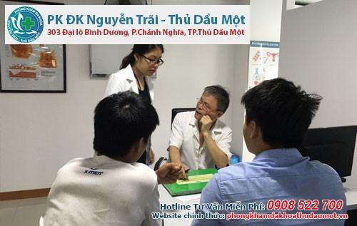 Phòng khám Đa khoa Nguyễn Trãi - Thủ Dầu Một trị bệnh sùi mào gà an toàn uy tín