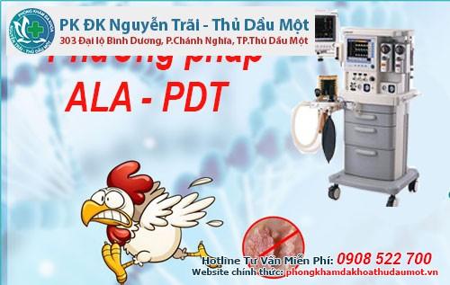 Dùng ALA – PDT thay thế cho mua thuốc trị sùi mào gà ở Bình Dương