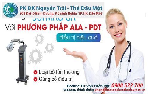 Kỹ thuật điều trị sùi mào gà tại phòng khám Đa khoa Nguyễn Trãi - Thủ Dầu Một