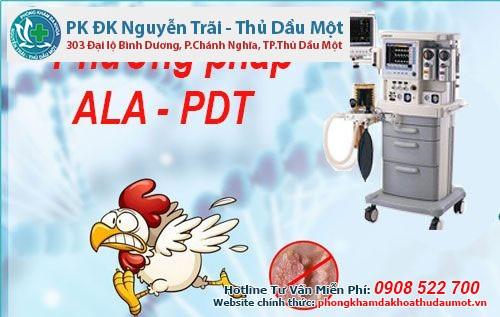Đột phá phương pháp ALA - PDT trong điều trị sùi mào gà