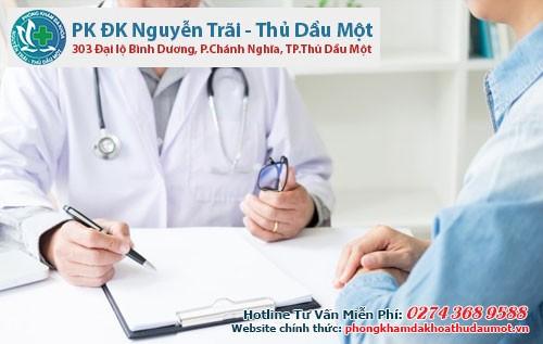 Thăm khám bệnh trĩ tại Đa khoa Nguyễn Trãi - Thủ Dầu Một