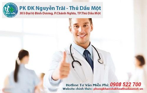 Phòng khám đa khoa Thủ Dầu Một điều trị triệt để bệnh trĩ