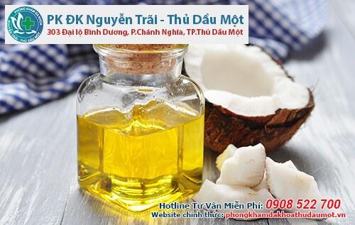 Cách điều trị bệnh trĩ ngoại bằng dầu dừa