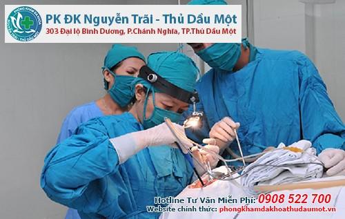 Khám và trị bệnh trĩ hiệu quả tại Đa khoa Nguyễn Trãi - Thủ Dầu Một