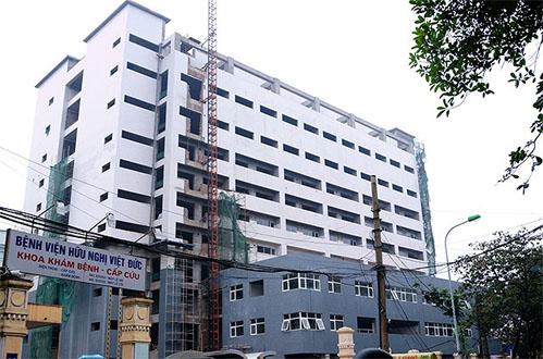 Bản đồ đường đi đến bệnh viện Việt Đức