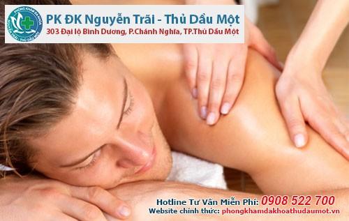 Đi massage về bị chảy mủ dương vật