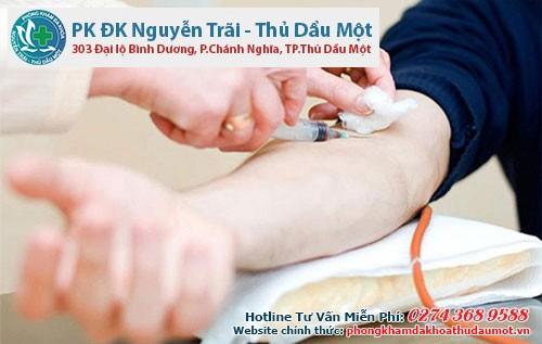 Địa chỉ phòng khám xét nghiệm bệnh xã hội Dĩ An Thuận An