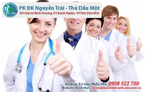 Phòng khám Đa khoa Nguyễn Trãi - Thủ Dầu Một điều trị bệnh xã hội uy tín ở Bình Dương