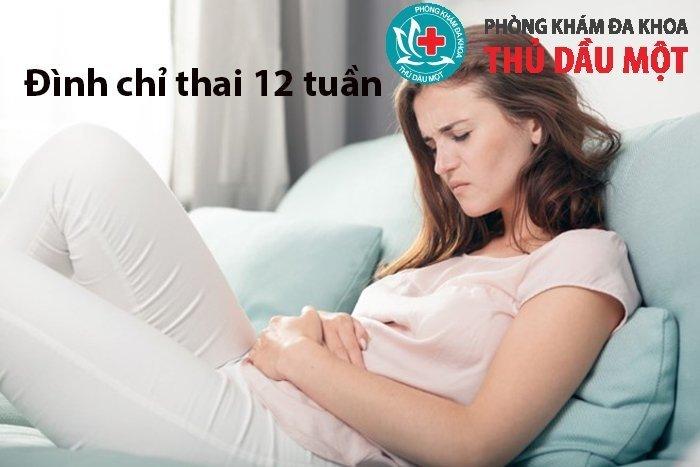 Đình chỉ thai 12 tuần