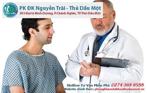Các bác sĩ Phòng khám đa khoa Nguyễn Trãi - Thủ Dầu Một sẽ giúp bạn chỉnh hình dương vật