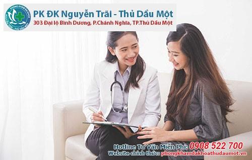 đến với Phòng khám Nguyễn Trãi - Thủ Dầu Một chị em sẽ được tư vấn kĩ càng