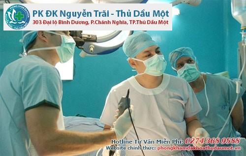 Các bác sĩ giàu kinh nghiệm trực tiếp điều trị