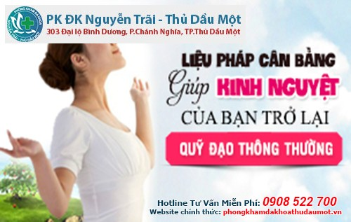 Chi phí thăm khám kinh nguyệt không đều tại Đa khoa Nguyễn Trãi - Thủ Dầu Một vô cùng hợp lý