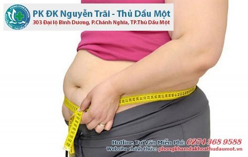 Tăng cân là nguyên nhân rối loạn kinh nguyệt