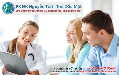 Điều trị bệnh phụ khoa tại phòng khám đa khoa Thủ Dầu Một