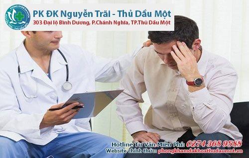 bác sĩ sẽ tư vấn các xét nghiệm cần thiết