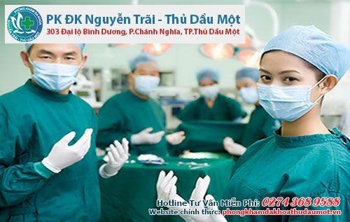 phòng khám Nguyễn Trãi - Thủ Dầu Một nơi tiền hành thu hẹp âm đạo an toàn