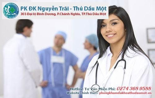 đình chỉ thai an toàn tại Phòng khám Nguyễn Trãi - Thủ Dầu một