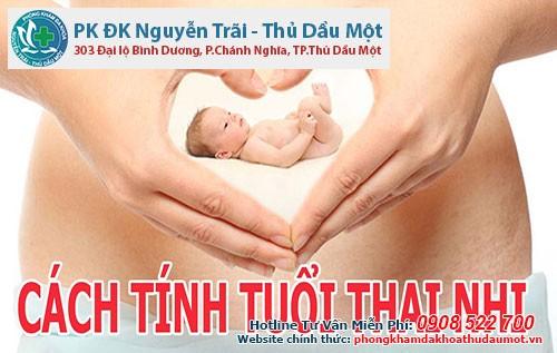 Cách tính tuổi thai 4 tuần tuổi ở Bình Dương