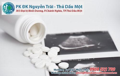 Phá thai bằng thuốc ở phòng khám thai ở Thủ Đức