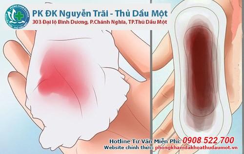 Phá thai không thành công: Máu kinh ra rất nhiều, băng huyết