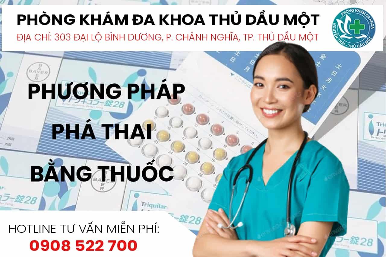 phương pháp phá thai bằng thuốc Bình Dương