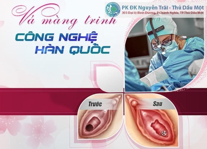 Phẫu thuật vá màng trinh