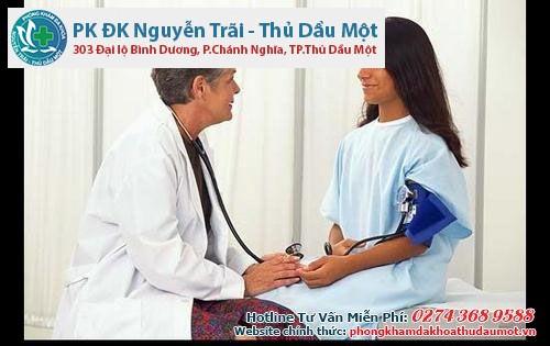 Phòng khám phụ khoa Thủ Dầu Một điều trị viêm cổ tử cung