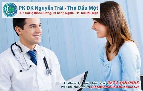 Phòng khám uy tín điều trị kinh nguyệt không đều hay ở bình dương