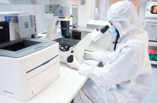 phòng xét nghiệm viêm gan B