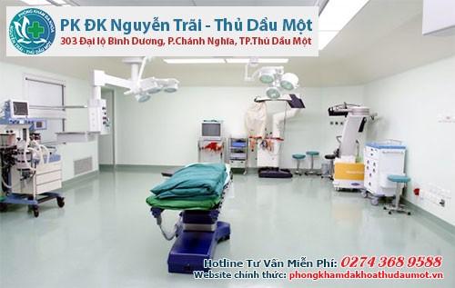 Hệ thuống cơ sở vật chất hiện đại trong thăm khám và điều trị rò hậu môn