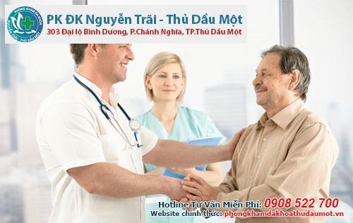 Khám và điều trị áp-xe hậu môn tại Đa khoa Nguyễn Trãi - Thủ Dầu 1