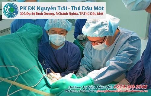 Phẫu thuật rò hậu môn nam giới rất an toàn và mang lại hiệu quả cao