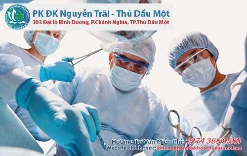 Phẫu thuật được xem là phương pháp tối ưu trong điều trị apxe hậu môn
